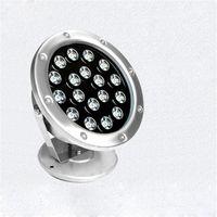 18W LED étanche projecteur sous-marine pour une vue piscine extérieure villa jardin carré Floodlight pelouse