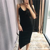Kadınlar Seksi Kadife Elbise İnce V yaka elbiseler BODYCON Marka Tasarımcı Giyim Tarzı Skinny Vestido Bandaj Parti Elbise Brief