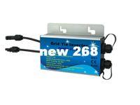 Freeshipping 230W 24-45V dc Ingresso 220V ac output IP67 On Grid Micro Inverter Solar +