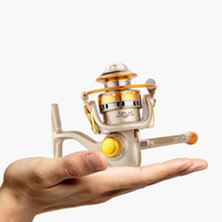 2019 New Spinning Fishing Reel 12BB + 1 No Gap Bearing Izquierda / Derecha Metal Coil Spinning Reel Barco Rock Fishing Wheel