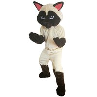 2018 New high quality Siamese Cat Mascot costumes for adults...