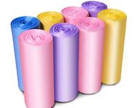 100pcs / pack Startseite Einweg-Müllsack Entsorgung Abfall-Taschen Kitchen Breakpoint- Einmalige Reinigung Tasche Rubbin Junk-Beutel-Organisator von Kunststoffabfällen