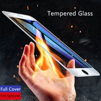 5D Full Cover Tempered Glass For iPhone 6 7 8 6S Plus X Glas...