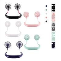 Haushaltsgeräte Life Appliances Sommer Mini Third Gear Design Elektrische Fans Hand frei Nackenband Fans