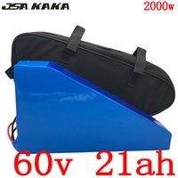 Freie Gewohnheitssteuer 60V 1500W 2000W Lithium-Batterie 20AH elektrisches Fahrrad 60V20AH Roller mit 5A Ladegerät