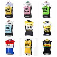 4d61c8899 LOTTO Jumbo team Cycling Sleeveless jersey Vest bike jersey vest summer  style sportswear Cycling vest Explosion A16