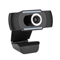 Computadora 720p HD Webcam MIC incorporado MIC SMART WEB CAMERA USB Pro Stream Cámara para computadoras portátiles de escritorio PC Game Cam para Windows OS