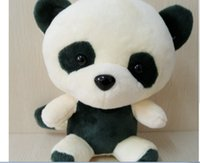 Peluche LED Flash Light Plush Luminous Cute Bear Panda Doll Juguete de felpa Regalo para niños