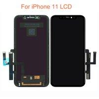 İPhone X XS XR XSMAX 11 Pro LCD Yedek 3D Dokunmatik Ekran Digitizer Tam Montaj Ekran Siyah Renk Ücretsiz DHL Nakliye