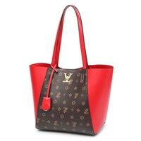 2c530c7dce2ec Nieuwe Aankomst. LAZZOVS 2019 Mode Schulter Verbund Taschen Damen Luxus Designer  Handtasche Für Frauen Klassische Muster PU LeatherTotes sling Bag
