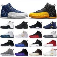 2020 chaussures de basket-ball Hommes 12s Université d'or UNC 4s obsidiennes COURT PURPLE 11s Autre Raisin Blanc Bred entraîneur de sport Concord
