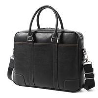 2020 جلد طبيعي للرجال حقيبة يد الصليب قسم الرجال في حقيبة جهاز كمبيوتر محمول حقيبة الأعمال