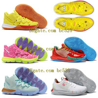 New Men Womens Kyrie 5 5s patricks stars Squidwards Basketba...