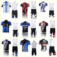 Riesiges Team Radfahren Kurzarm Jersey BIB Shorts Sets Neue Ankunft Männer Atmungsaktiv Radfahren Kleidung Sommer MTB Fahrrad Tragen U80305