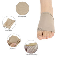 Flat Feet Orthesen Plantar Fasciitis Arch Support Sleeve Kissen Pad Heel Spurs Fuß Hallux Valgus Hosenträger Orthopädische
