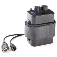 自転車の自転車ランプのための新しい携帯8.4V 18650防水バッテリーパックケース6 x電池ホルダー収納ボックスハウスカバー