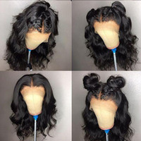 9A Glueless Full Lace Wigs With Baby Hair Loose Wave Pre Plu...