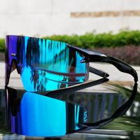 Gafas de sol de ciclo de los hombres de las mujeres de los vidrios de bicicletas Deportes UV400 lente polarizada de bicicletas de montaña Pesca Montar gafas Eyewear con el caso del envío gratis