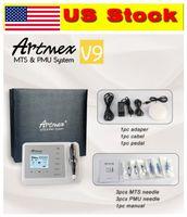 US Stock! Artmex V9 permanent Microblading MTS PMU tatouage Maquillage permanent machine numérique micro Blading derma stylo Sourcils Eyeliner Lèvres