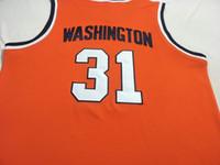 Benutzerdefinierte Männer Jugend Frauen # 31 Dwayne Perle Washingtonn Syracuse College Basketball-Jersey-Größe S-4XL oder benutzerdefinierten beliebigen Namen oder Nummer Jersey
