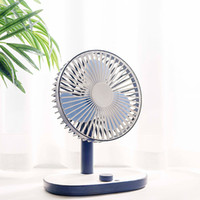 KBAYBO Mini USB rechargeable intégrée Batterie de refroidissement Air bureau Cooler Fan étudiants Mute ventilateur portable ventilateur de bureau