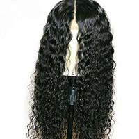 페루 곱슬 처녀 딱지없는 레이스 프론트 인간의 머리 가발 아기 머리를 가진 Pre Plucked Remy Hair 360 레이스 정면 가발 130 밀도
