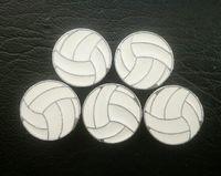 100 teile / los 8mm volleyball sport diacharme fit für 8 MM diy leder armband armband modeschmuck