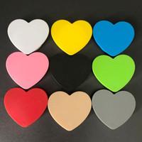 Universal-Expandable Air Bag Bracket Heart-shaped Ständer Stent 360-Grad-Drehung-Finger-Ring-Griff-Halter Halterung für Handy-Tablette Kindle