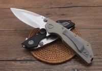 Raccomandare la cartella cuscinetto DC-G10 Caccia Pieghevole coltello da tasca pieghevole coltello di sopravvivenza regalo di natale per uomo Banco D2 ZT 1pcs Freeshipping
