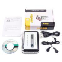 Tragbare MP3-Kassettensicherung zu USBS Bänder PC Super MP3 Music Player Audio Converter Recorder Spieler Cassette-to MP3