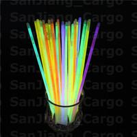 العصي الملونة عصا الوهج سوار عقد حزب نيون LED ضوء وامض عصا عصا مضيئة الجدة لعبة صوتي حفل LED فلاش E31008
