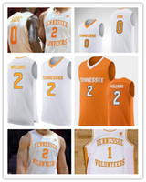e7928fc9a69 2019 Custom NCAA Tennessee Volunteers Grant Williams Bone Admiral Schofield  10 John Fulkerson 1 Turner College Basketball Jerseys Any Name
