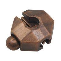 Nouveau style de tortue en alliage Shell verrouillage Casse-tête classique en métal Casse-tête QI EQ test Intellgence Toy cadeau pour Adultes Enfants Enfants
