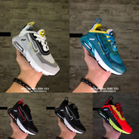 Nike Air Vapormax 2090 2020 Nouveaux enfants Chaussures de course 2090 pour nourrissons 2090 sneaker Résumé espadrille de filles de garçon Triple Noir Blanc Tout-petits enfants
