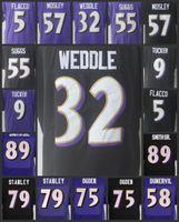 Kids Women Baltimore 5 Joe Flacco Youth Jerseys Ravens Lady Football 57 CJ  Mosley 9 Justin Tucker 89 Steve Smith SR Black Purple. US  14.53   Piece.  New ... 0074e8099