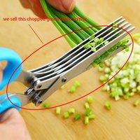 5 Schichten Multifunktionsedelstahl Shredder Schere DIY Chopped Algen Gadgets Durable Pro Küche Grüne Zwiebel Cutter Werkzeuge