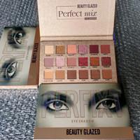 Bellezza smaltato ombretto palettes perfetto mix 18 colori degli occhi tavolozza ombretti NUDE ombra Shimmer Matte eyeshadows 1: 1 di alta qualità tavolozza