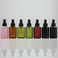 la botella de perfume cuerpo 125ml con la botella de perfume de cristal fina niebla pulverizador 50pcs con bomba, tipos de botella niebla de pulverización