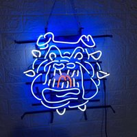 Customized Size NCAA Fresno State Bulldogs Logo Neon Sign Ha...