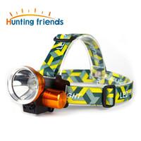 Super helle LED Wiederaufladbare Sensor Scheinwerfer Hohe Cree 3000 Lumen Scheinwerfer 18650 Scheinwerfer wasserdichte Scheinwerfer Taschenlampe