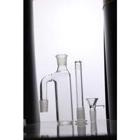 Nuovi Ashcatchers Ash Catcher 18.8mm 18mm Down Stem Perc Glass Glass Buscher Quality Ashcatcher