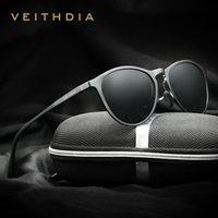 VEITHDIA خمر مصمم العلامة التجارية الأصلية مربع النظارات الشمسية رجل / إمرأة ذكر نظارات شمسية gafas oculos دي سول ذكر للCX200706 6625