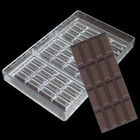 NEW 100% food grade FDA clear Polycarbonate chocolate bar mo...