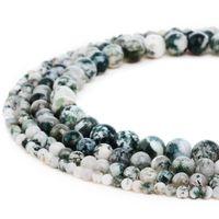 Натуральные каменные бусины аметист драгоценные камни круглые розовые кварцевые свободные шарики для женщин браслет ювелирные изделия 1 прядь 8 мм