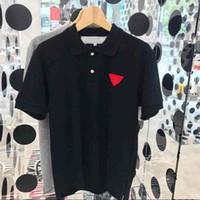 Hombre de moda Polos camiseta impresa camiseta transpirable suelto flojo camisa de manga corta casual pareja señoras verano amor camisetas