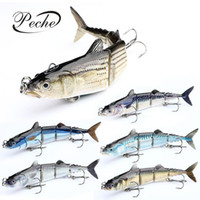 16cm 32g del señuelo de pesca de hundimiento wobblers multi articulados Swimbait cebos duros para Equipos de pesca Herramientas Pesca artificial Pike Carp Fishing Tackle