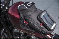 bolsa de navegación de la motocicleta bolsa de depósito de combustible asiento trasero de múltiples funciones hombro locomotora correa del bolso cuatro hombro