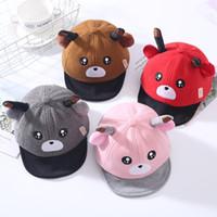 赤ちゃん1-3歳の屋外の太陽の帽子子供野球帽の綿の舌の帽子子供のボール帽子のための男の子の女の子卸売0080ht