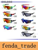 Promotion Cylcing Fishing Sunglasses 10 colors New Fashion D...