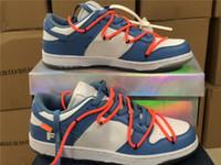 Beste Authentisches Weiß X Futura X Sb Dunk Low Unc Light Blue Beiläufiges Skateboard Schuhe für Männer Ct0856-700 Sport Turnschuhe mit Og Box